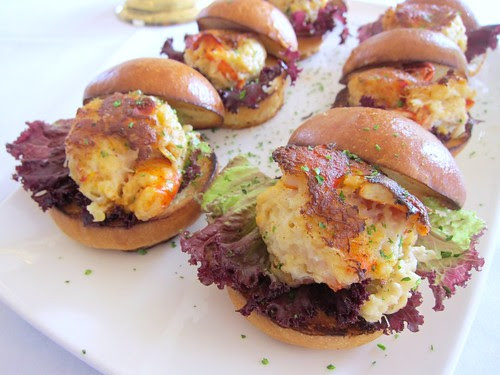 Lobster and Crab Cake Sliders