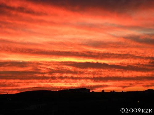 DSCN2386 19 OCT 09 sunset