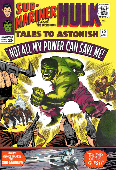 Tales to Astonish 075