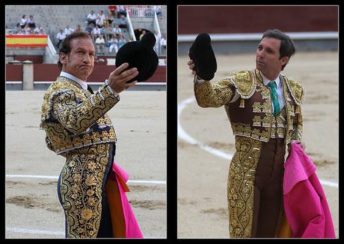 Frascuelo y Luis de Pauloba