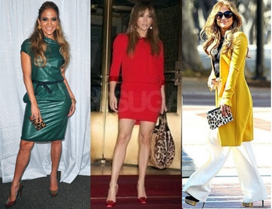 Jennifer Lopez Leopard Accessories