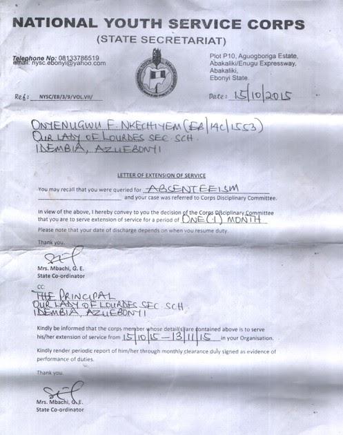 97 Pdf Nysc Permission Letter Format Printable Hd Docx
