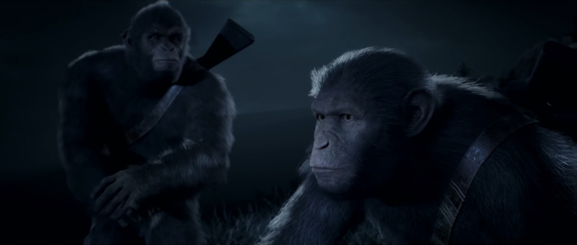 Planet of the Apes is getting a cinematic adventure game screenshot