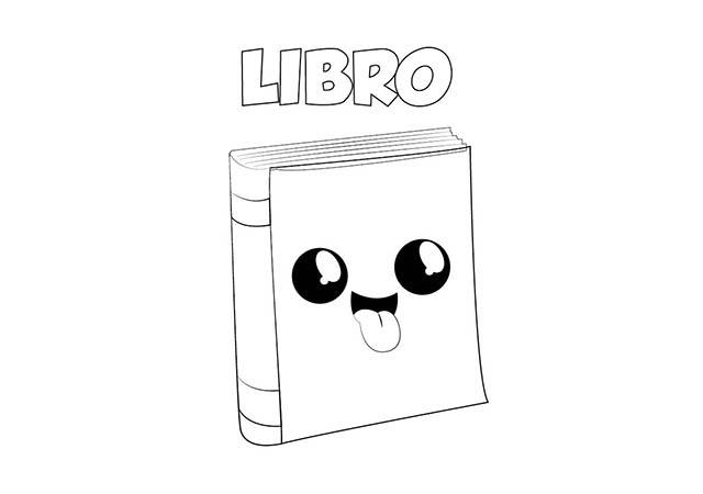 Dibujo Libro Para Imprimir Y Colorear