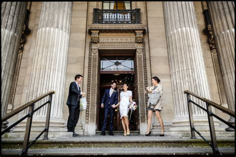 Intimate London Wedding Photography at The Old Marylebone