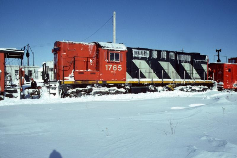 CN 1765 in Fredericton, by Greg Brewer