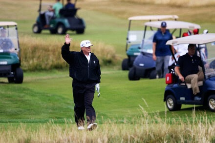 TREND ESSENCE:Rumored Trump Trip to Scottish Golf Course Ruled Out of Bounds