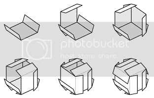 Business Card Cube