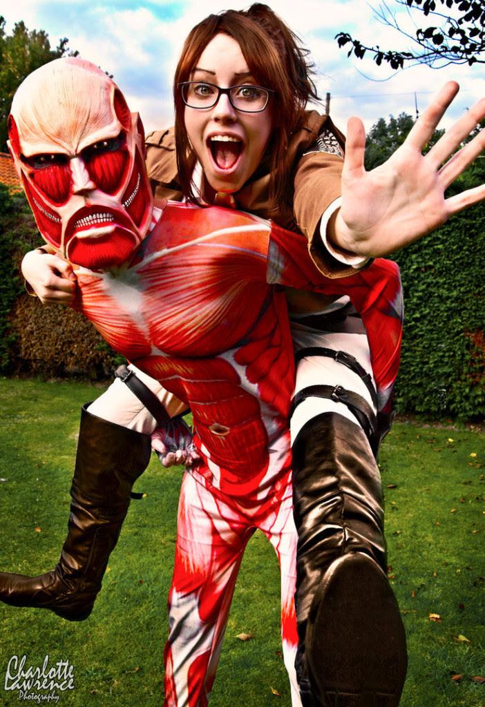 Ataque ao Titan Cosplay 13