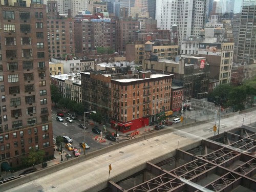 The Queensborough roadway from the Roosevelt Ave. tram