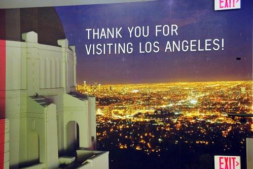 Bye, bye, California. Aeropuerto de Los Angeles