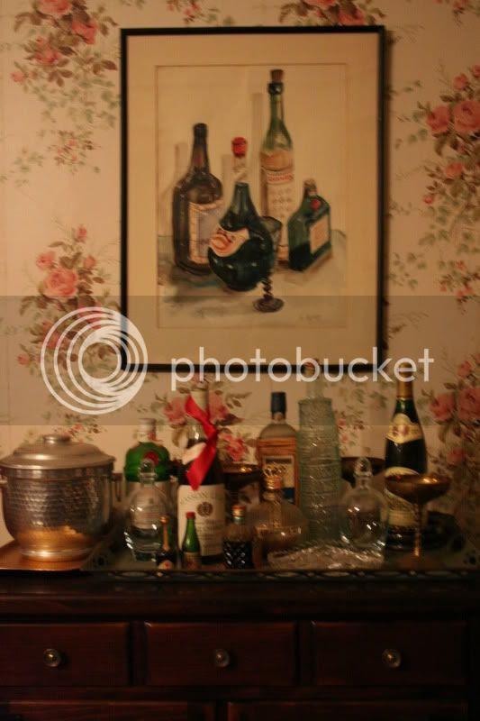 mad men bar set up