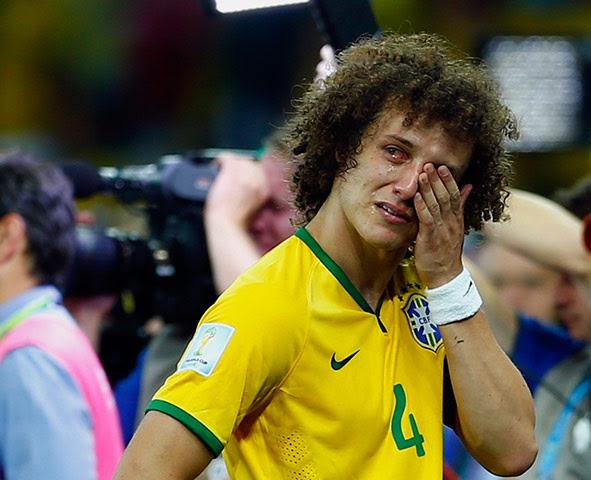 david luiz, yellow soccer jersey