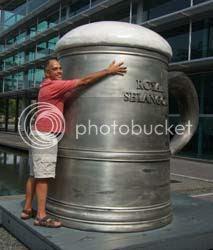 Worlds Largest Pewter Mug