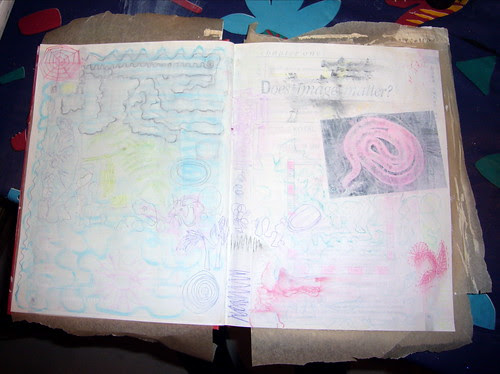 Soul Journal Pages in Progress - 3