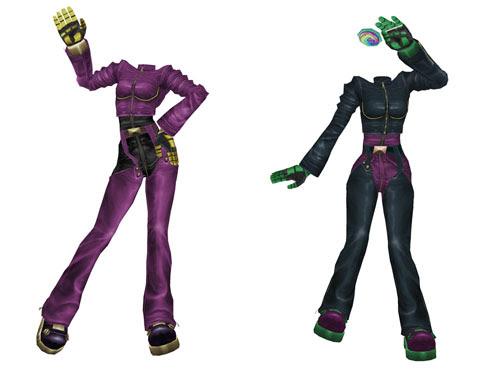 MMD Kula Diamond Default & Inverted Outfit