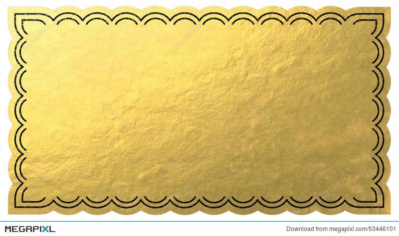 Golden Ticket Illustration 53446101 - Megapixl