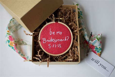DIY Bridesmaid Proposal Boxes   Project Wedding