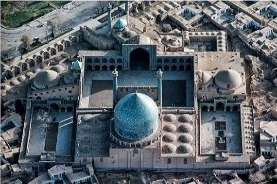 La mezquita de Shah en Isfahán, Irán 1978 - Persia desde arriba
