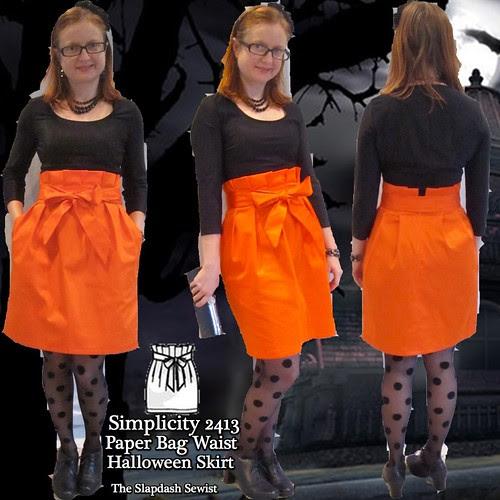 S2413 Paper Bag Skirt Thumbnail