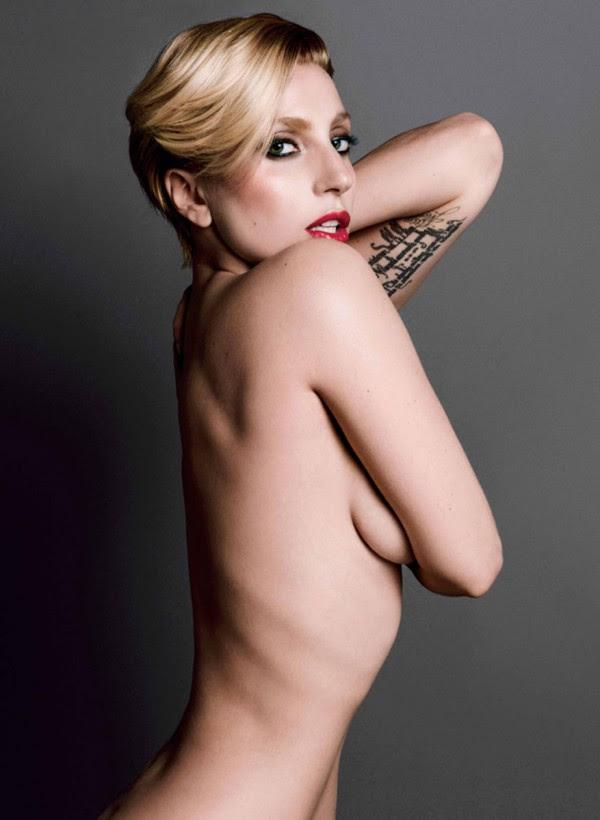 Lady Gaga nude in V Magazine