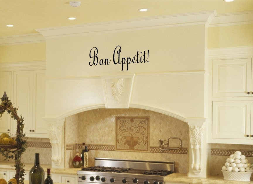 Kitchen Wall Decals Wall Quote Wall Words Wall Sticker by Katazoom