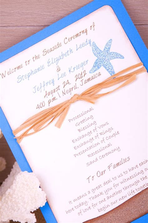 ideas  beach wedding programs  pinterest
