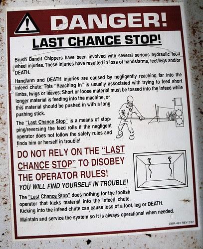 last chance stop