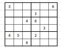 sudoku bulmacasi oernekleri sayfa   yeter ki