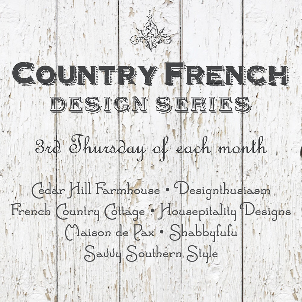 Country French Design Series | Designthusiasm.com