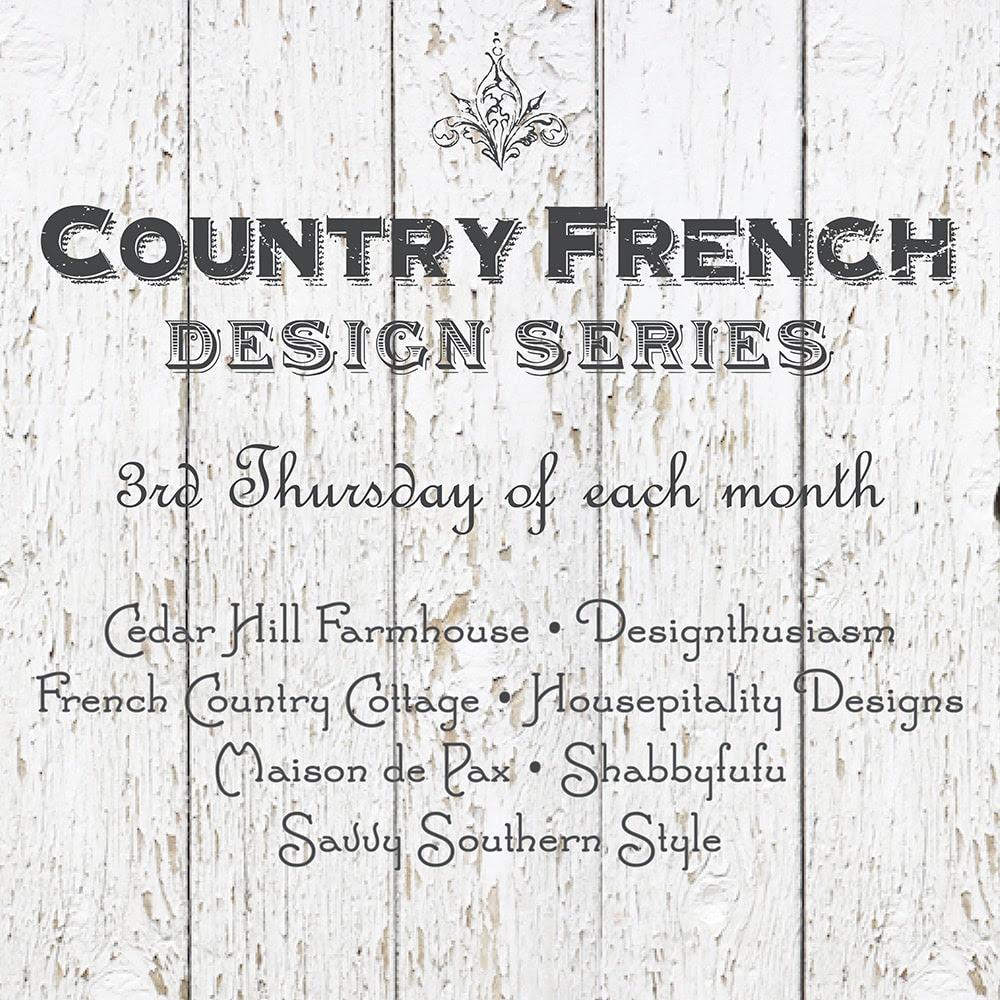 Country French Design Series | Designthusiasm.com