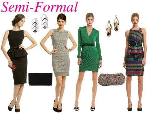 Semi formal attire   Fashion Vixen: Apparel   Semi formal