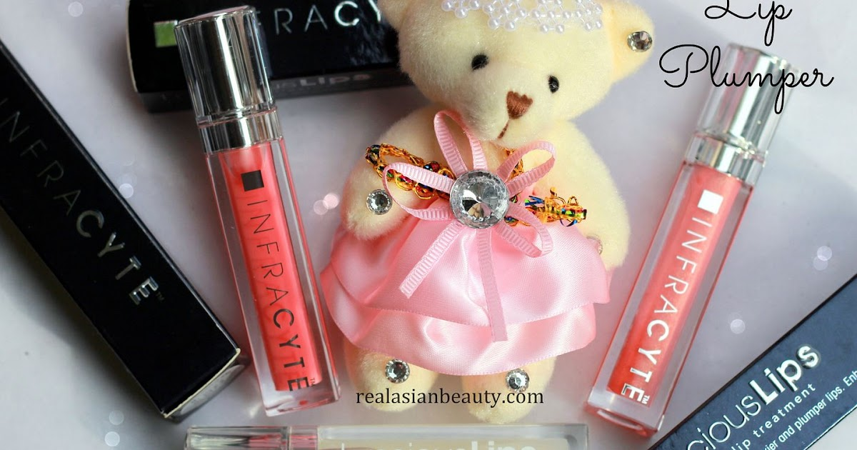 Real Asian Beauty: Infracyte Instant Lip Plumper Lip Gloss