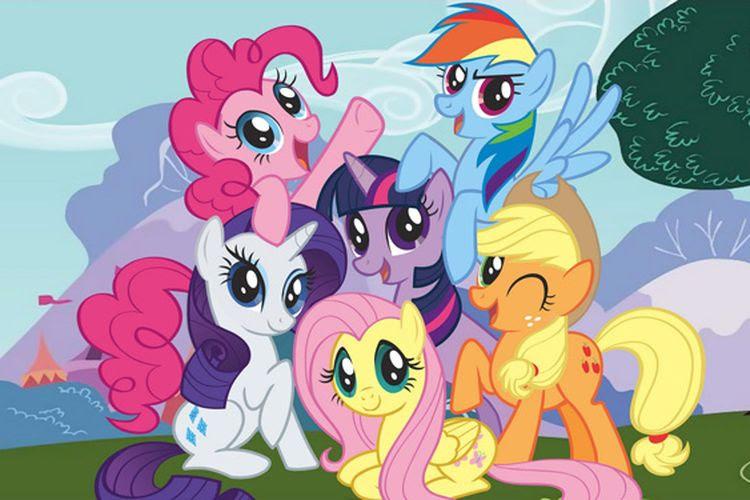 My Little Pony Friendship Is Magic Memberimu Gambaran Dari Arti Sahabat Semua Halaman Makemac