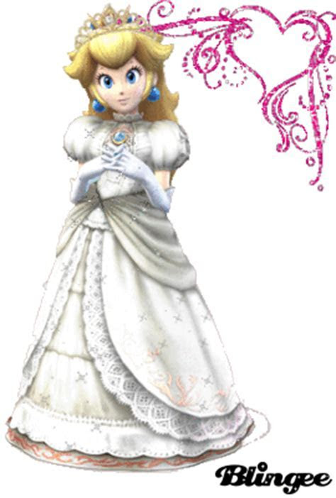 Princess Peach wedding gown Picture #94201967   Blingee.com