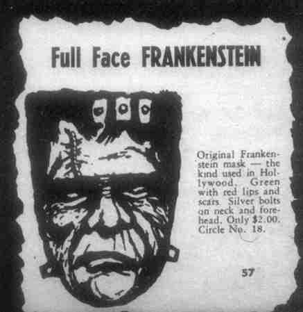 full face frankenstein