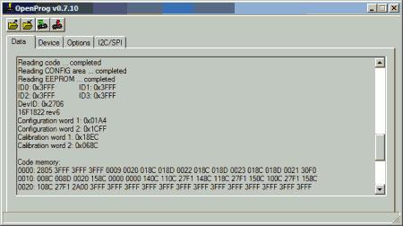 Open  Programmer programador USB PIC Atmel I2c SPI windows 450x252 Open Programmer   Programador Open Source USB para Microntroladores PIC, EEPROMS Microware, Microntroladores ATMEL, dispositivos I2C/SPI e outros