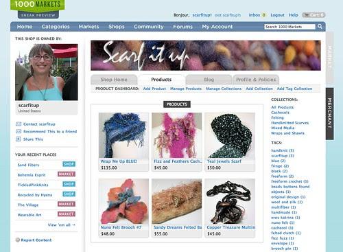 "Scarfitup""s 1000 Markets Shop"