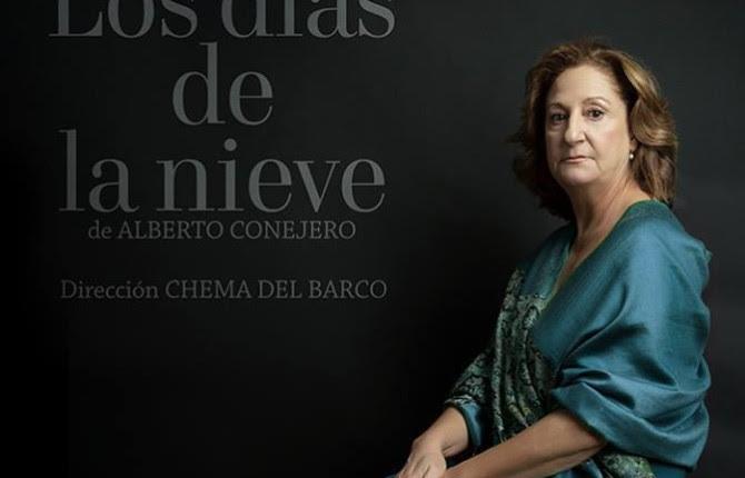 INTERPRETACIÓN. La actriz jiennense Rosario Pardo caracterizada como Josefina Manresa en el cartel de la obra.