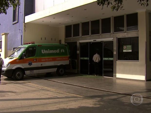 Unimed Paulistana faliu após uma crise financeira afetar a cooperativa (Foto: Reprodução TV Globo)