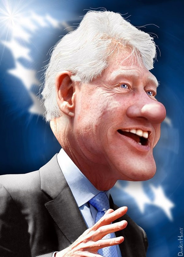 Portrait Caricatures Of Famous Peoples (4)