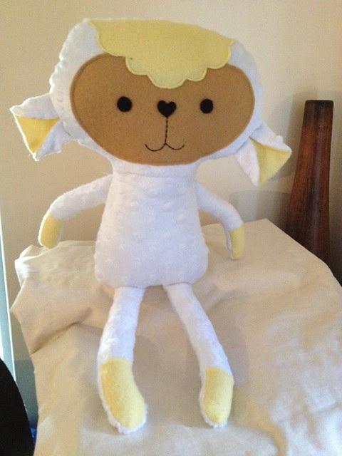 Debs dolls lamb