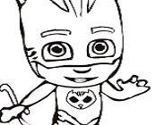 Pj Masks Catboy Coloring Pj Masks Games