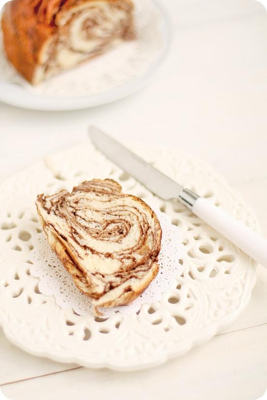 Japanese Chocolate Marble Bread マーブルチョコパン