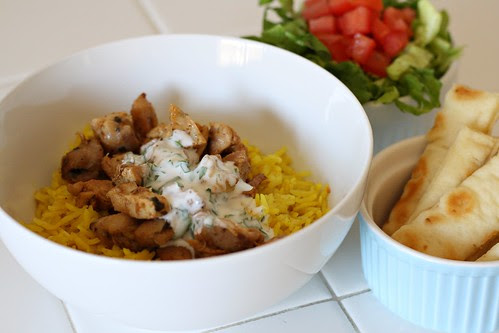 Halal Cart-Style Chicken and Rice