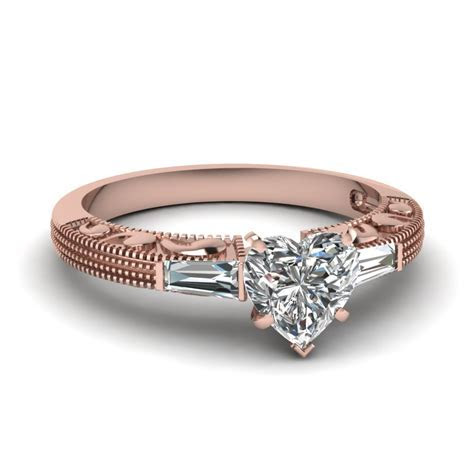 Affordable Three Stone Engagement Rings   Fascinating Diamonds
