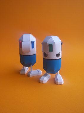 4C Paper Toy