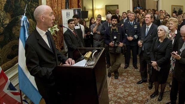 """El embajador Mark Kent habló ayer de """"reconciliación"""""""
