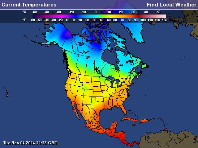 Climate Of North America Mizmenzies