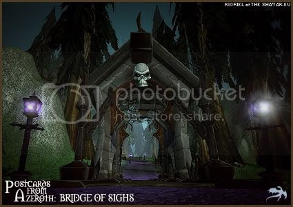 Postcards of Azeroth: Bridge of Sighs, by Rioriel of theshatar.eu